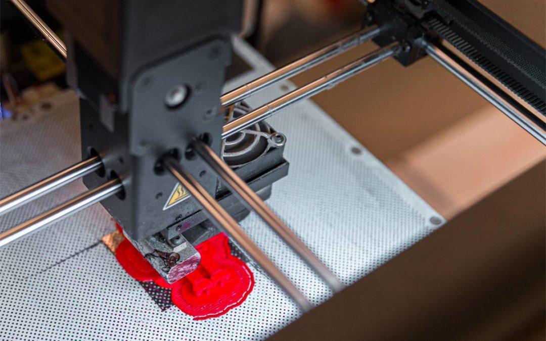 Manifattura 3D. Arredi a basso impatto aziendale di plastica riciclata