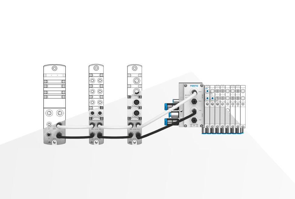 Flessibilità ed efficienza produttiva con il sistema Remote IO CPX-AP-I Festo